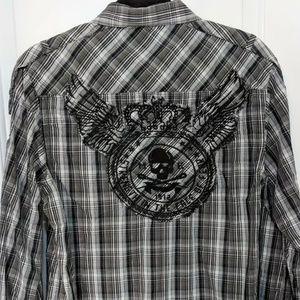 Marc Ecko Cut & See Button Down Shirt